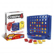 Hasbro Дорожная игра «Собери 4» B1000