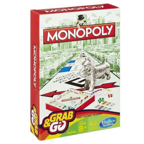 Hasbro Дорожная игра «Монополия» B1002