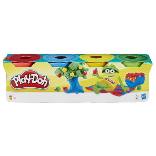 Hasbro Play-Doh Набор пластилина из 4 мини-баночек по 56 г 23241