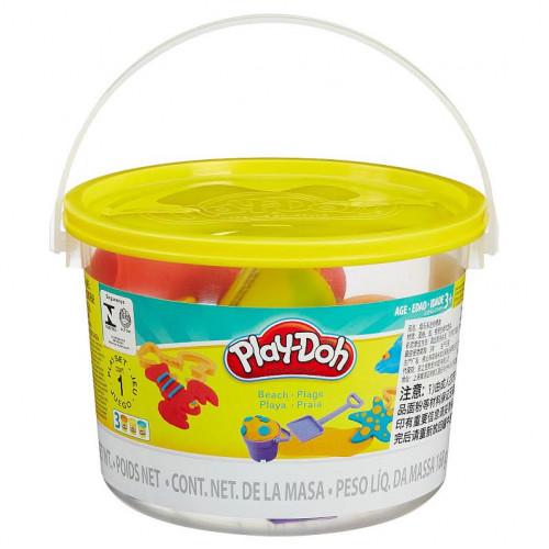 Hasbro Play-Doh Ведерко пластилина 3б «Морские обитатели» 23414/23242