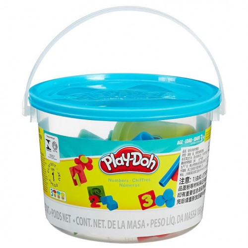 Hasbro Play-Doh Ведерко пластилина 3б «Считалочка» 23414/23326