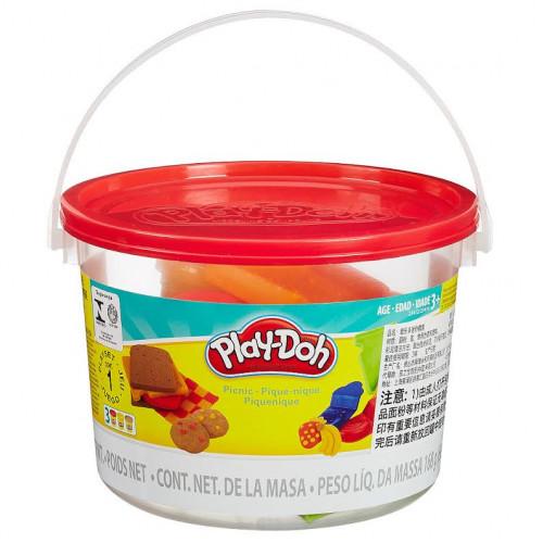 Hasbro Play-Doh Ведерко пластилина 3б «Пикник» 23414/23412