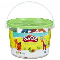 Hasbro Play-Doh Ведерко пластилина 4б «Сафари» 23414/23413