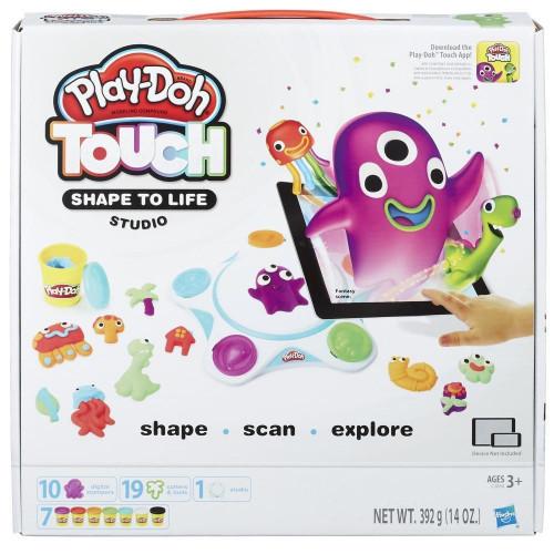 """Hasbro Play-Doh PLAYSETS Интерактивный набор с пластилином «Создай мир: Студия"""" Плей Дох C2860"""