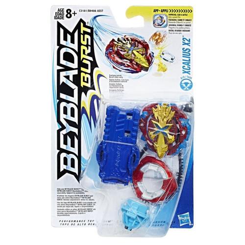 Hasbro BEYBLADE Волчок с пусковым устройством BEY XCALIUS X2 (C3181) B9486