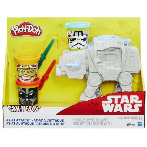 Hasbro Play-Doh Игровой набор «AT атакует» B5536