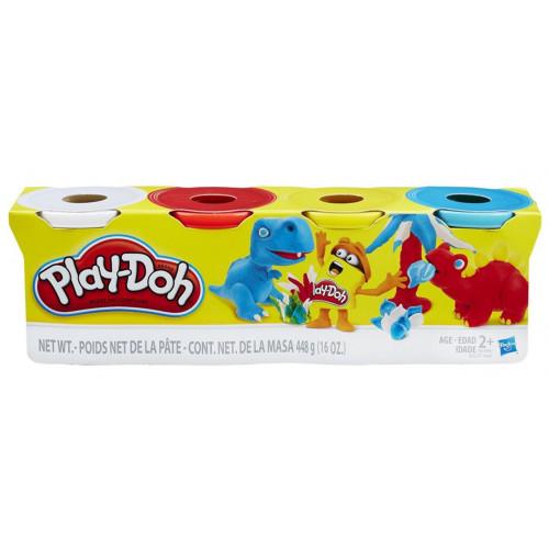 Hasbro Play-Doh Набор пластилина из 4х банок по 112 г, «Дино» (B6508) B5517