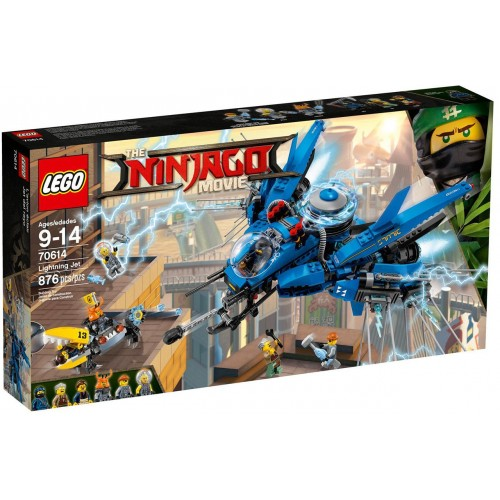 THE LEGO® NINJAGO® Movie™ Самолёт-молния Джея 70614