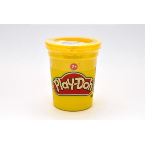 Hasbro Play-Doh Баночка пластилина 112 г, B6756 желтая