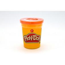 Hasbro Play-Doh Баночка пластилина 112 г, B6756 оранжевая
