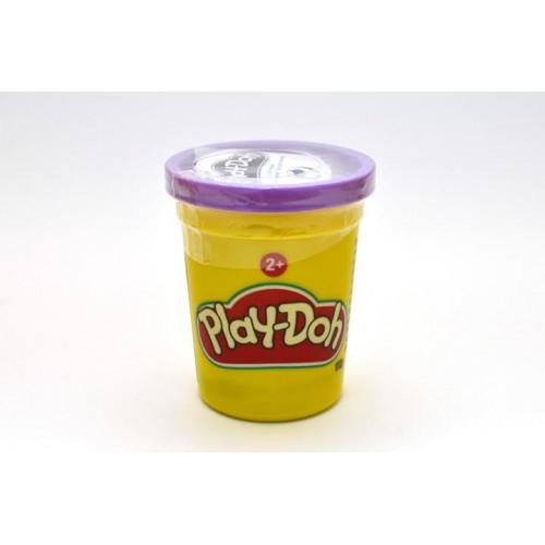 Hasbro Play-Doh Баночка пластилина 112 г,B6756 фиолетовая