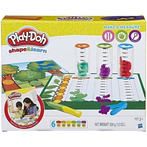 """Hasbro Play-Doh PD Игровой набор с пластилином """"Сделай и измерь"""" B9016"""