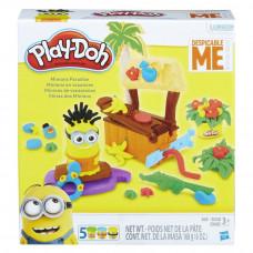 """Hasbro Play-Doh Плей-До Игровой набор """"Рай миньонов"""" Play-Doh B9028"""