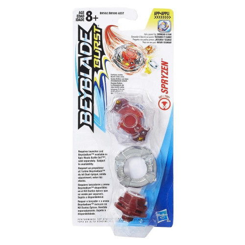 BEYBLADE HASBRO Волчок Bey Beyblade Single Top Spryzen (B9502) B9500