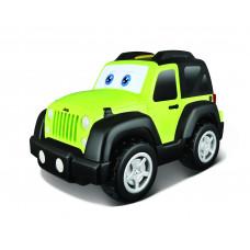 Игровая автомодель Jeep Wrangler (звук, глаза и движение), 16-81531