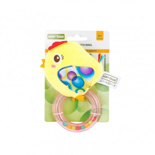 Игрушка-погремушка с кольцом, , 4+ арт. 8502