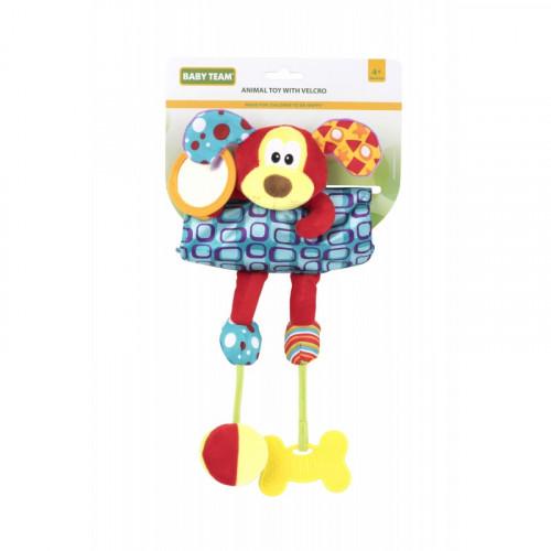 Мягкая игрушка на кроватку/коляску собачка 8532