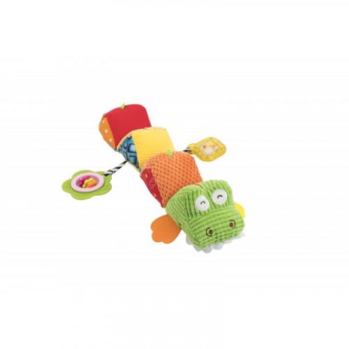 """Мягкая игрушка-гусеница """"Крокодил"""" 8534"""