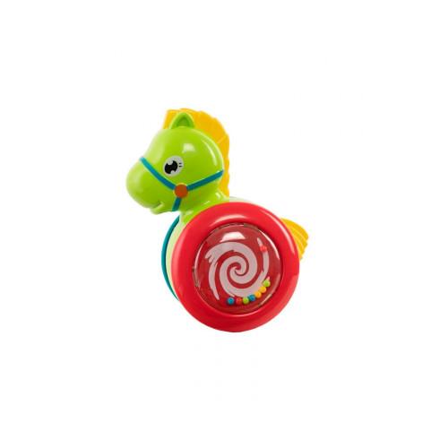 """Игрушка-погремушка """"Неваляшка"""" Baby team, 6+, арт. 8615 (лошадка)"""