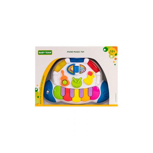 """Игрушка музыкальная """"Пианино"""" Baby team, 12+, арт. 8635"""