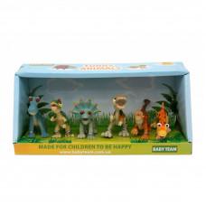 """Набор игрушек-фигурок """"Динозавры"""", 6 шт 8832"""