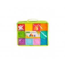 Кубики развивающие Baby team, 9+, арт. 8870