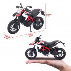 Модель мотоцикла Maisto 31101-14 Ducati Hypermotard SP white