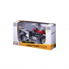 Модель мотоцикла Maisto  BMW  R1200GS black/red 31101-3