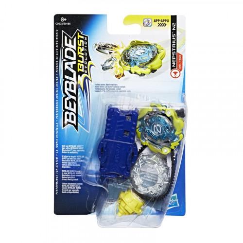 Hasbro BEYBLADE Волчок с пусковым устройством BEY PHANTAZUS P2 (E1058) B9486