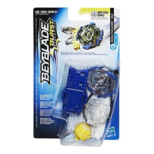 Hasbro BEYBLADE Волчок с устройством для запуска BEY Roktavor R2 B9486/E2757