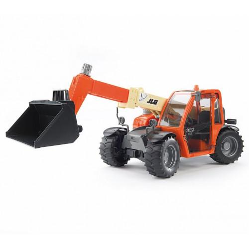 Bruder - Машинка игрушечная-погрузчик JLG 2505 Telehandler с телескопическим ковшом  02140