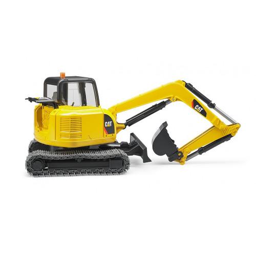 Bruder - Машинка игрушечная мини-экскаватор Cat  02456
