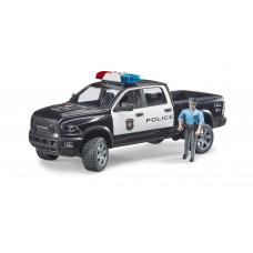 BRUDER игрушка - полицейский пикап Wrangler с полицейским   02505