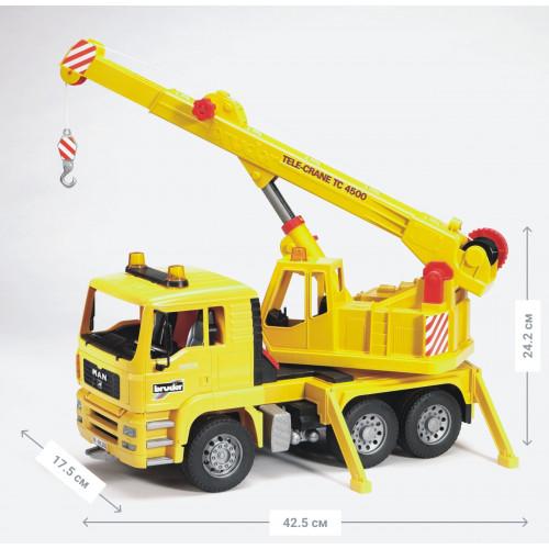 Автокран BRUDER MAN М1:16 02754