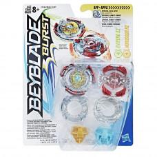 BEYBLADE HASBRO 2 волчка Bey Evipero E2 and Horusood H2 (C2286) B9491
