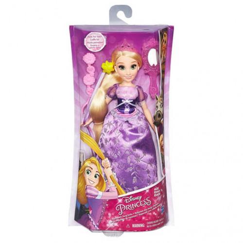 Disney Princess Кукла Принцесса Рапунцель с длинными волосами и аксессуарами в асс. B5294