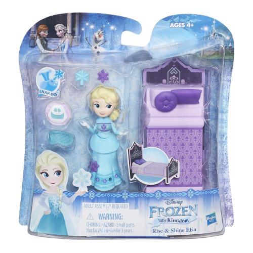 Disney Frozen Маленькая кукла Холодное сердце с аксессуарами «Сияющая Эльза» B5188/B7461