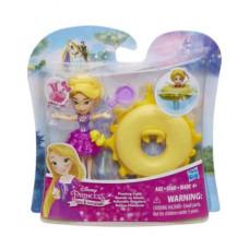 Disney Princess Маленькая кукла принцесса Рапунцель, плавающая на круге B8938