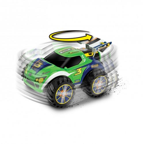 """Машина-амфибия на р/у """"Nano VaporizR 3 green"""" зелёный 10012"""