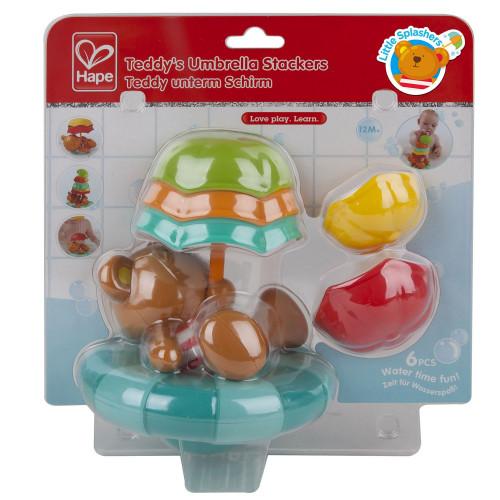 """Игрушка для ванны """"Teddy с зонтиком"""" E0203"""