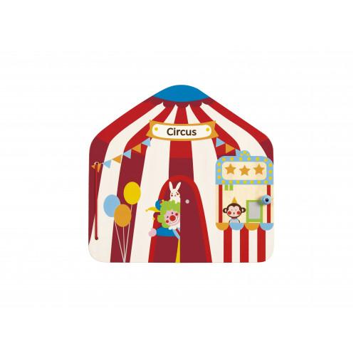 HAPE Книга с магнитами - Цирк, E3017