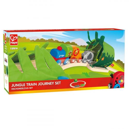 """Набор железной дороги """"Путешествие по джунглям"""" HAPE, E3800"""