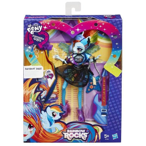 Equestria Girls Кукла эквестрии со стильными прическами «Rainbow Dash» B1038