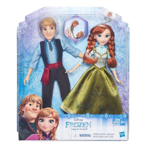 Disney Frozen Набор кукол Холодное Сердце «Анна и Кристоф» B5168