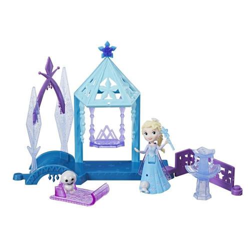 Disney Frozen FRZ Игровой набор маленькие куклы Холодное Сердце (кукла и домик)E0233 E0096