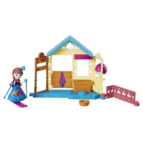 Disney Frozen FRZ Игровой набор маленькие куклы Холодное Сердце (кукла и домик)E0234 E0096