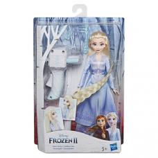 FRZ Кукла Холодное Сердце 2 с акссесуарами для волос   ELSA E6950/E7002