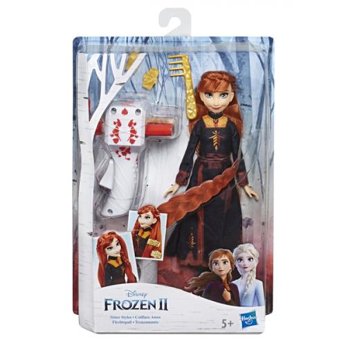 FRZ Кукла Холодное Сердце 2 с акссесуарами для волос   ANNA E6950/E7003