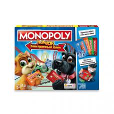 HASBRO MONOPOLY Моя первая Монополия с банковскими картами E1842