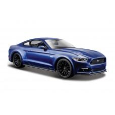 Автомодель Maisto (1:24) 2015 Ford Mustang GT синий 31508 met blue